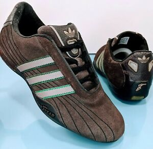 Details about Rare ADIDAS Goodyear Tuscany Men's 6.5 Women's 8 Suede Team Racing Driving Shoes
