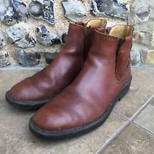 marron Chelsea Yello cuir Hommes taille 8 chaussures Bottes Miles pour britanniques en aqPBnwOH