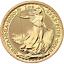 2020-U-K-100-Pound-1-oz-Gold-Britannia-Brilliant-Uncirculated thumbnail 1