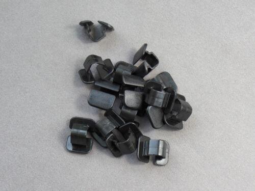 15x abdeckstopfen capó dämmatte negro audi a4 VW Passat 1h586384901c