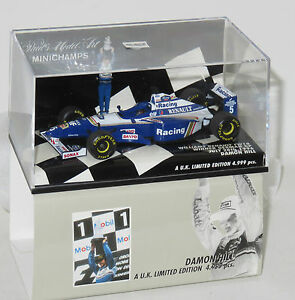 1/43 Williams Renault Fw18 D.hill Champion du Monde Saison 1996 4012138031685