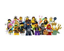 Lego Minifigures Serie 7 , 8831 Completa - Complete Series 7
