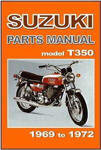 SUZUKI-Parts-Manual-T350-Rebel-1969-1970-T350II-1971-T350R-amp-1972-T350J-Catalog