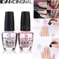 2pcs Nail Art Polish Natural Prime Gloss Base Coat & Top Coat Duo Pack Set 15ml