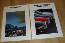 BMW 3 Series E36 Brochure Set 1991 316I 318I 320I 325I - Includes Colour Guide