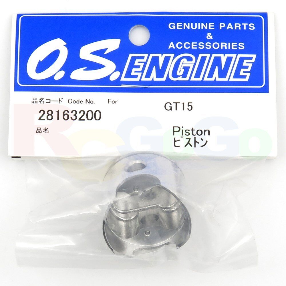 PISTON GT15 OS28163200 O.S. Engines Genuine Parts