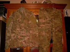 SET ISSUED USGI  MULTICAM SHIRT PANT US ARMY  SIZE LARGE X LONG  L XL  USED