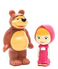 Masha and the Bear Rubber BATH TOY SET