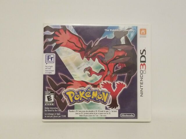 Pokemon Y - Authentic - Nintendo 3DS - Case / Box and Manual Only!