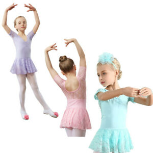 5b0bdd8783f8 Ballet Dance Leotard Dress Tutu Ages 3-9 years Fairy Dress Up Skirts ...