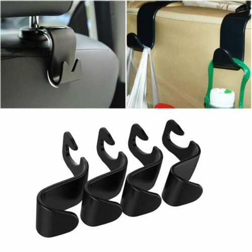Bag Holder Hide Cloth Hanger Car Seat Back Hooks ABS Plastic Auto Headrest