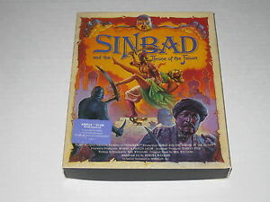 Sinbad-and-the-Throne-of-the-Falcon-Amiga-1987-Rare-Cinemaware-Game