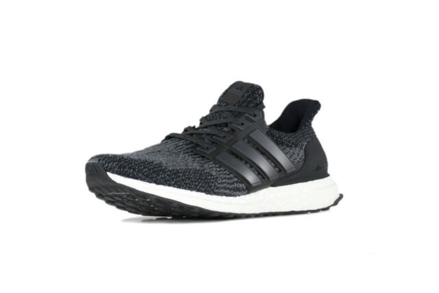 81cb9a12464eb adidas Ultraboost 3.0 Core Black White Men Running Shoes SNEAKERS ...