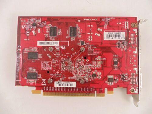 ATI Radeon 2600PRO512PE DUAL DVI PCIe 512MB Video Card LL3//LL4 E