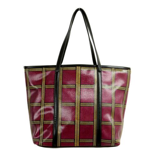 Versace Jeans Women/'s Multi-Color Tote Handbag Bag