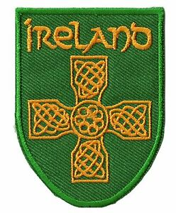 Ecusson-patche-Irlande-Celtique-Celte-thermocollable-patch-Eire-brode