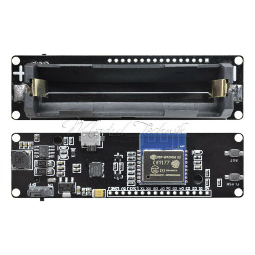 18650 Battery WeMos D1 ESP-WROOM-02 Motherboard ESP8266 WiFi Nodemcu Module