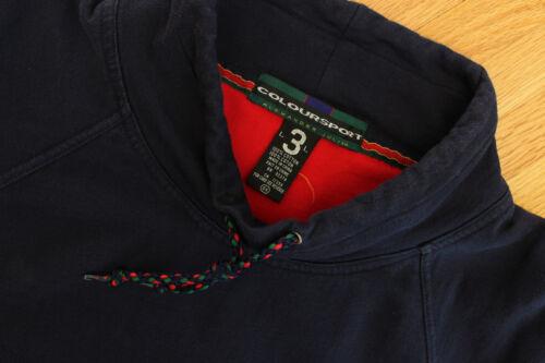 Alexander Julian Mock Pullover Coloursport Suéter Collar Vintage Por Colores tEwqqzf