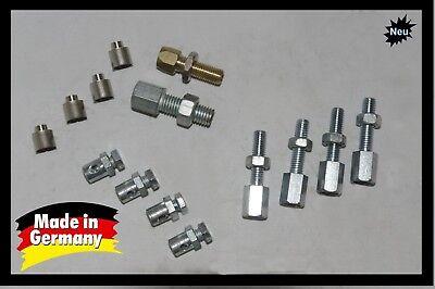 14-teiliges Vespa Nippel Einstellschrauben Schraubnippel Set Kupplung Schaltung