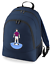 Football-TEAM-KIT-COLOURS-Burnley-Supporter-unisex-backpack-rucksack-bag miniatuur 3