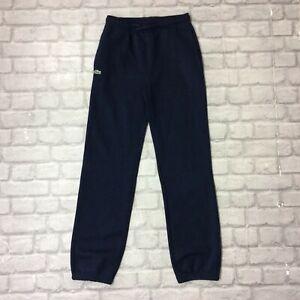 Lacoste-Sport-Junior-Garcons-16-ans-176-cm-Bleu-Marine-Pantalon-De-Jogging-Survetement-Sport