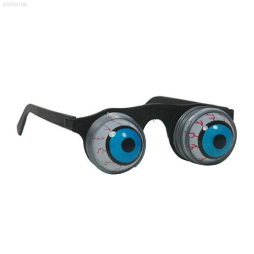 D17A Pop Out Spring Eye Balls Glasses Halloween Shock Children Toys Accessory