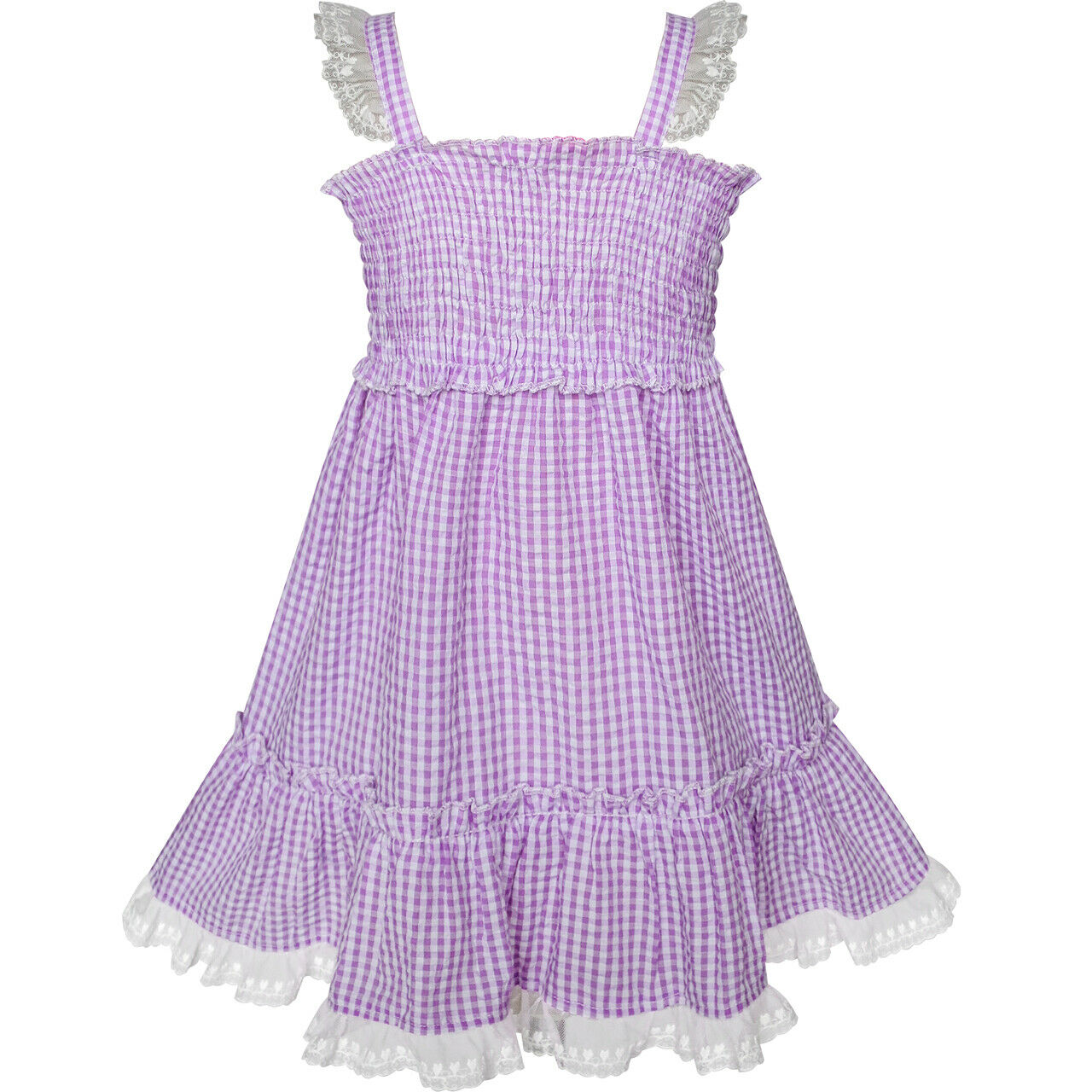 Girls Dress Blush Pink Long Sleeve Swan Princess Tutu Size 5-12 US STOCK