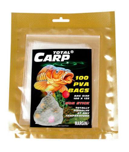 100 PVA BAGS 80 X 130mm solid film