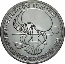 8€ Euro Silver Large Coin PORTUGAL 2007 Bartolomeu de Gusmão UNC/ BU