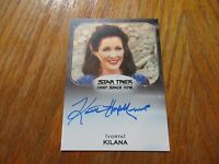2017 Star Trek 50th Anniversary Kaitlin Hopkins As Kilana Autograph