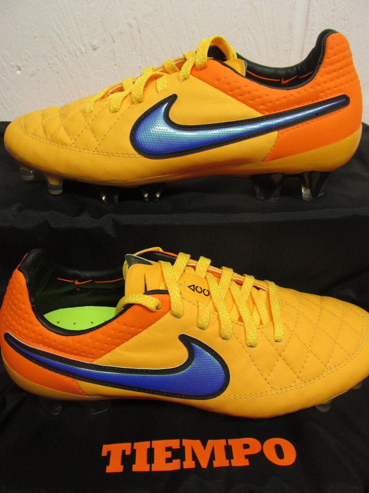 Nike tiempo legend V FG mens football boots 631518 858 soccer cleats firm ground