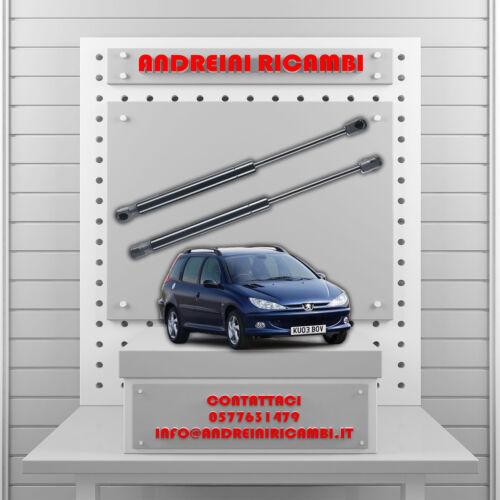 2 PISTONCINI BAGAGLIAIO PEUGEOT 206 SW 1.4 55KW 75CV 2008 />MG24061