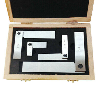 4/'/' Machinist Square 90º Right Angle Engineer Carbon Steel Measure Tool