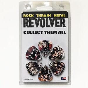 RARE-Metallica-Pantera-Marilyn-Manson-Avenged-Sevenfold-Slayer-Guitar-Pick-Pack