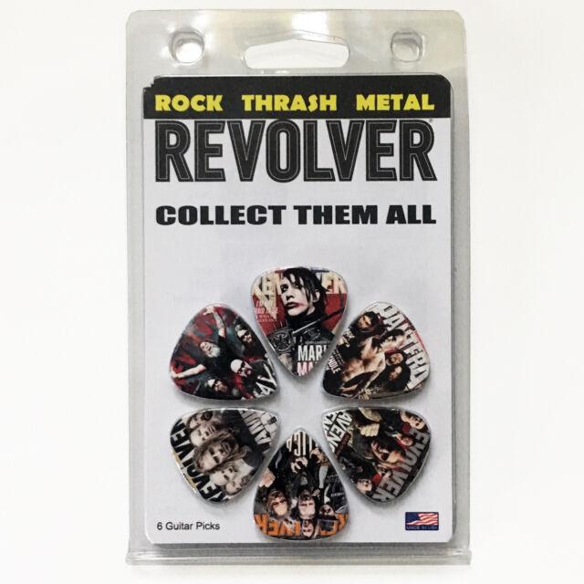 Metallica Pantera Marilyn Manson Avenged Sevenfold Slayer Guitar Pick Mag Pack