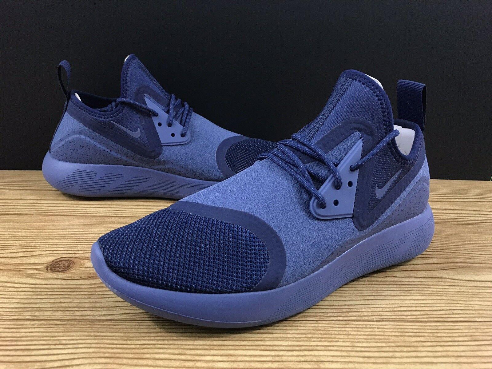 Nike Lunarcharge Essential Mens Sz 9 Running Binary bluee bluee bluee Moon Volt 923619 447 1f9645