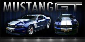 Image Is Loading Ford Mustang Gt Muscle Car Garage Shop Quality