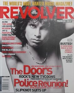 THE-DOORS-Spring-2000-PREMIERE-ISSUE-REVOLVER-Magazine-NEW