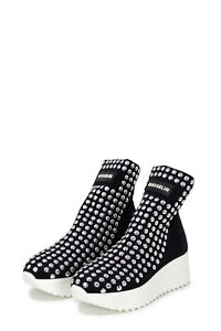 Sneakers-Donna-GIOSELIN-light-flat-studs