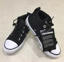 "d3593fba8e03 item 1 CONVERSE ""CTAS Street Mid"" Junior Black   White Basketweave  Sneakers~~Size 12 -CONVERSE ""CTAS Street Mid"" Junior Black   White  Basketweave ..."