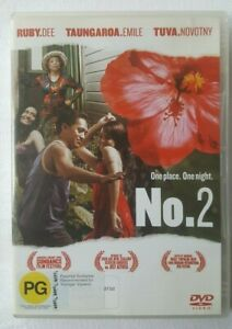 No-2-Naming-Number-Two-2006-Toa-Fraser-New-Zealand-Buena-Vista-Region-4-DVD