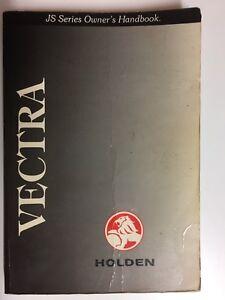 Holden-Vectra-JS-Series-Owners-Handbook-1998-Car-Manual-Book
