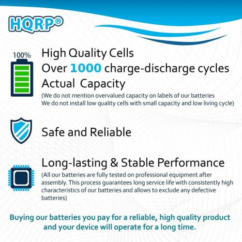 HQRP Battery for ADEMCO LYNX /& ADT Replaces WALYNX-RCHB-SC