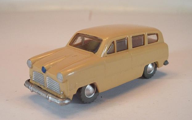 Siku plástico V 22 Ford modelo combi 53 Factory error v-serie 1