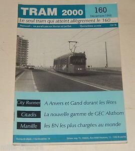 TRAM-2000-N-160-Decembre-1995-TRAMWAY-AUTOBUS-Gamme-GEC-ALSTHOM-Citadis