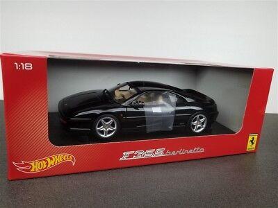 Hot Wheels 1//18 FD Ferrari F355 Berlinetta Black