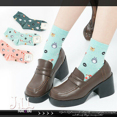 japan LOLITA cartoon my neighbour totoro wind passage ankle socks JMA7008