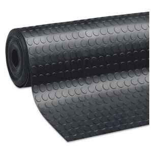 Tappeto-antiscivolo-gomma-nero-robusto-passatoia-zerbino-copripavimento-bolle
