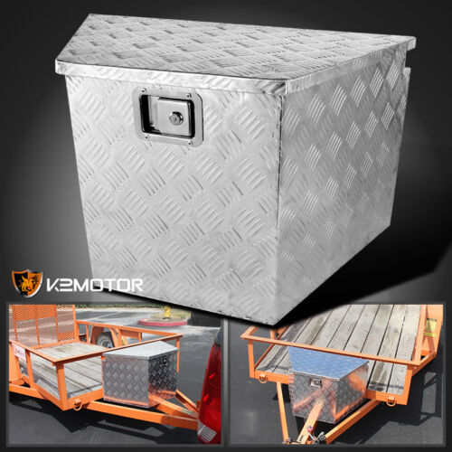 "29/"" Heavy Duty Aluminum Tool Box Truck Storage Underbody Truck Trailer Tongue"
