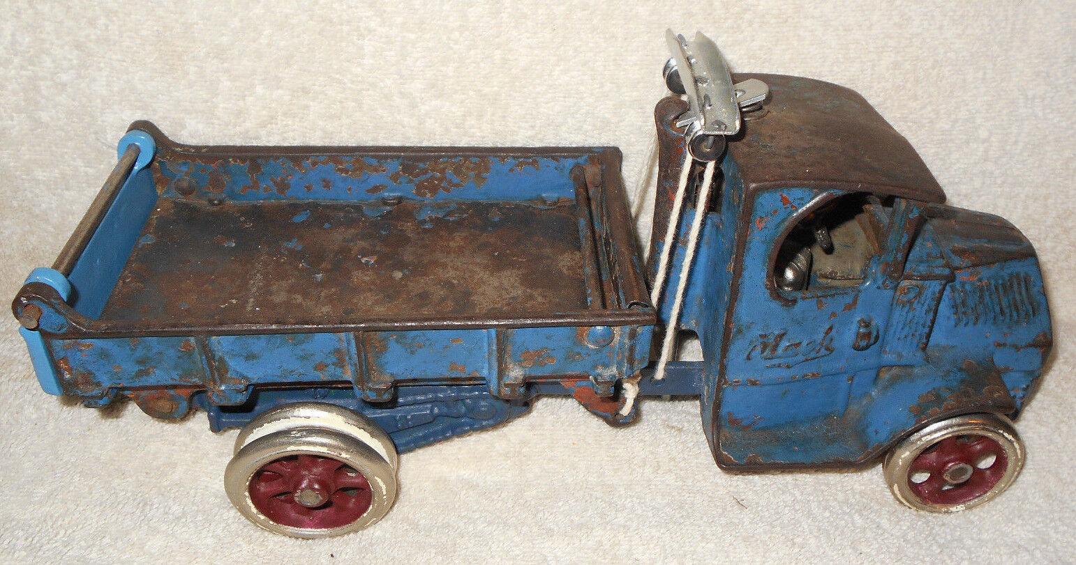 12 en hierro fundido Arcade Mack T-Bar camión Controlador De Doble Ruedas Traseras De Níquel
